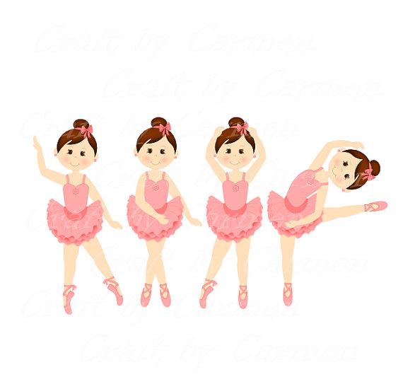 Ballet girl clipart.