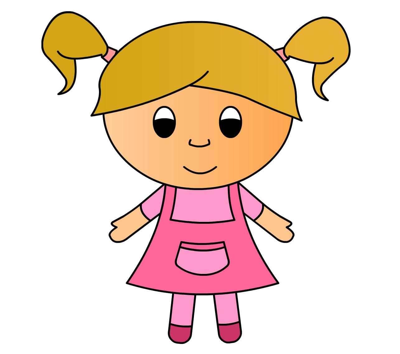 Free Little Girl Illustration, Download Free Clip Art, Free.