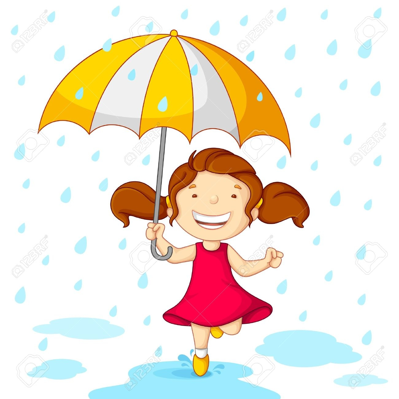 little girl playing in rain clipart clipground Free Puppy Graphics puppy love clipart free