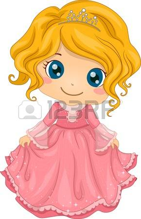 5,267 Little Princess Cliparts, Stock Vector And Royalty Free.
