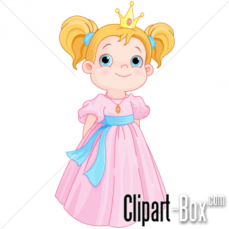 CLIPART YOUNG PRINCESS.
