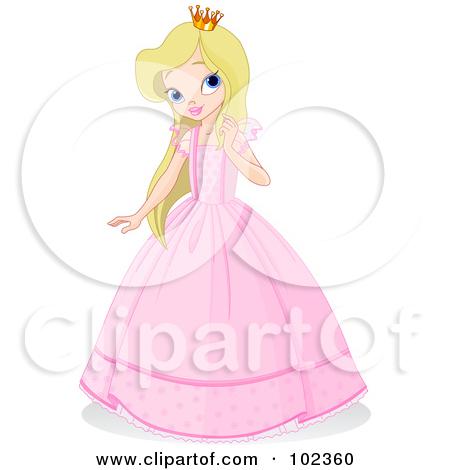 Princess Girl Clipart.