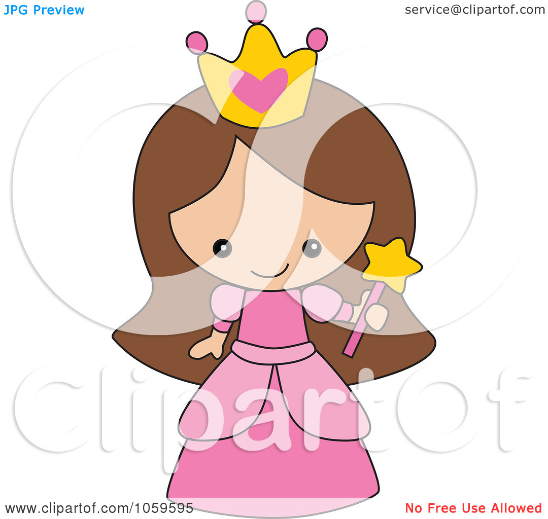 Girl Princess Clipart.
