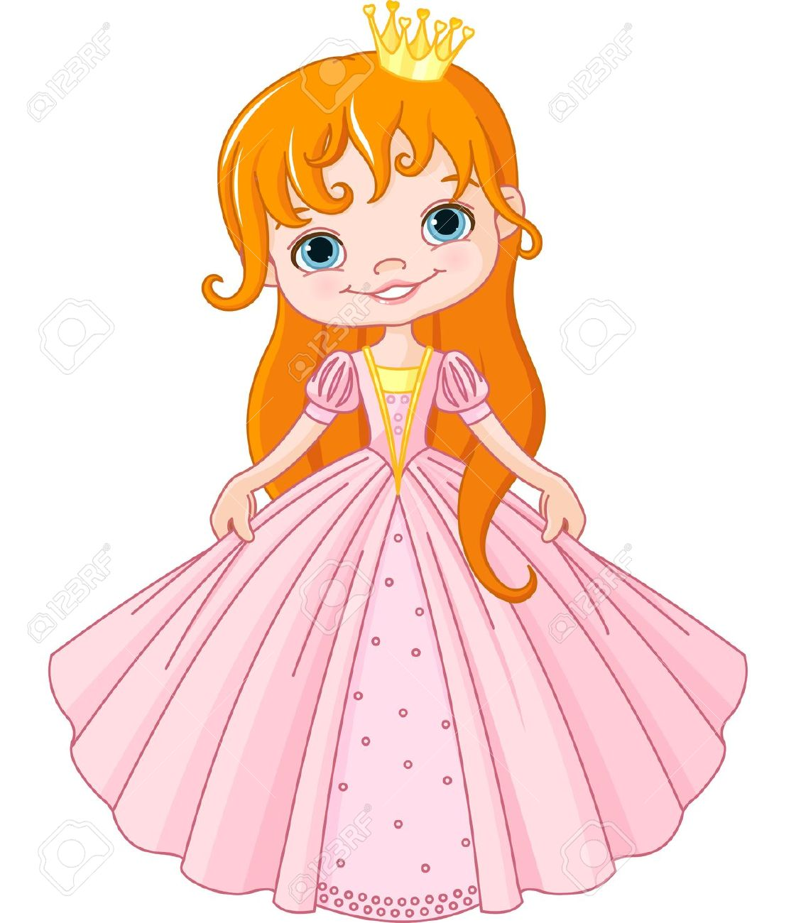 Showing post & media for Cartoon little girl princess.