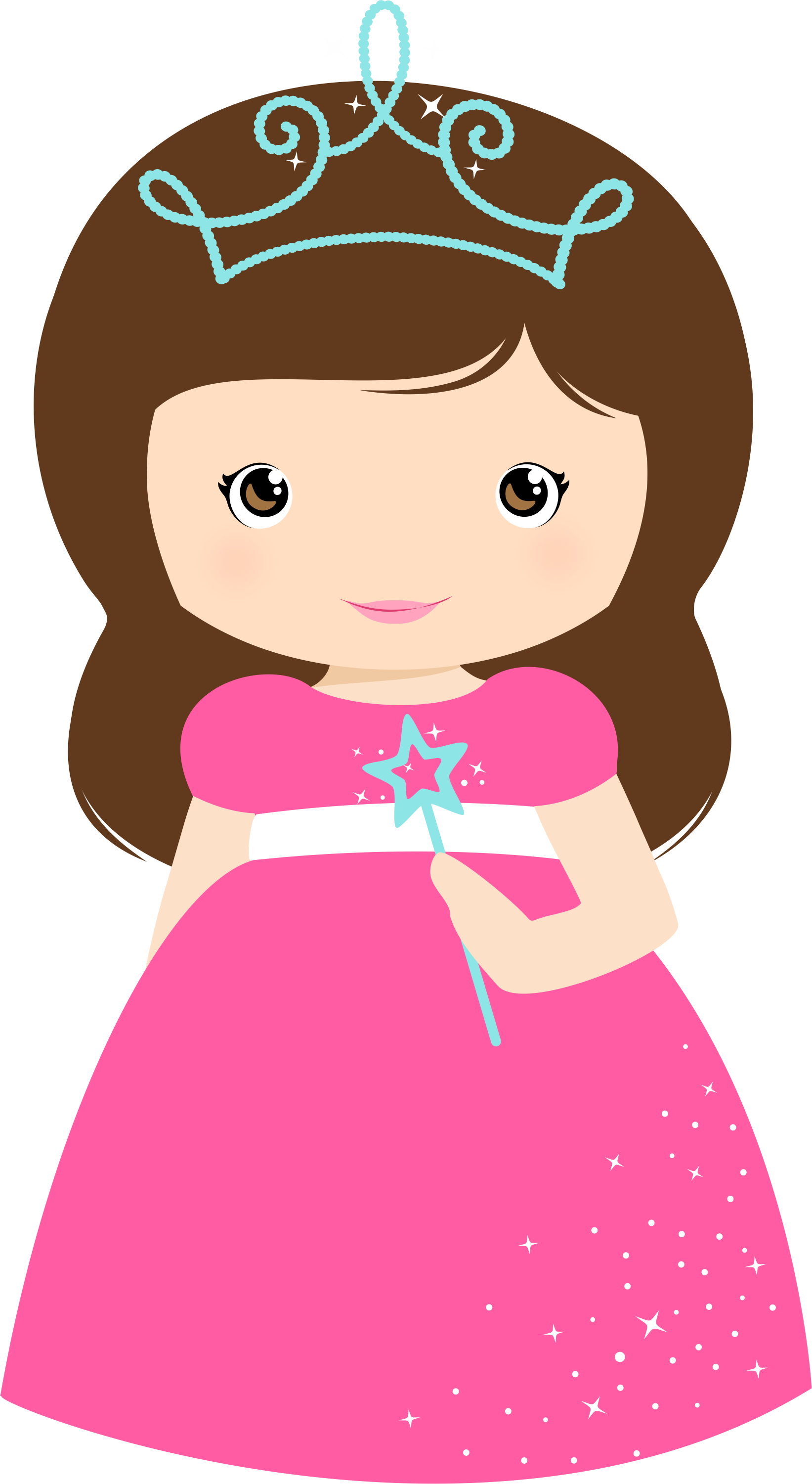 Little girl princess clipart clipground for Small princess