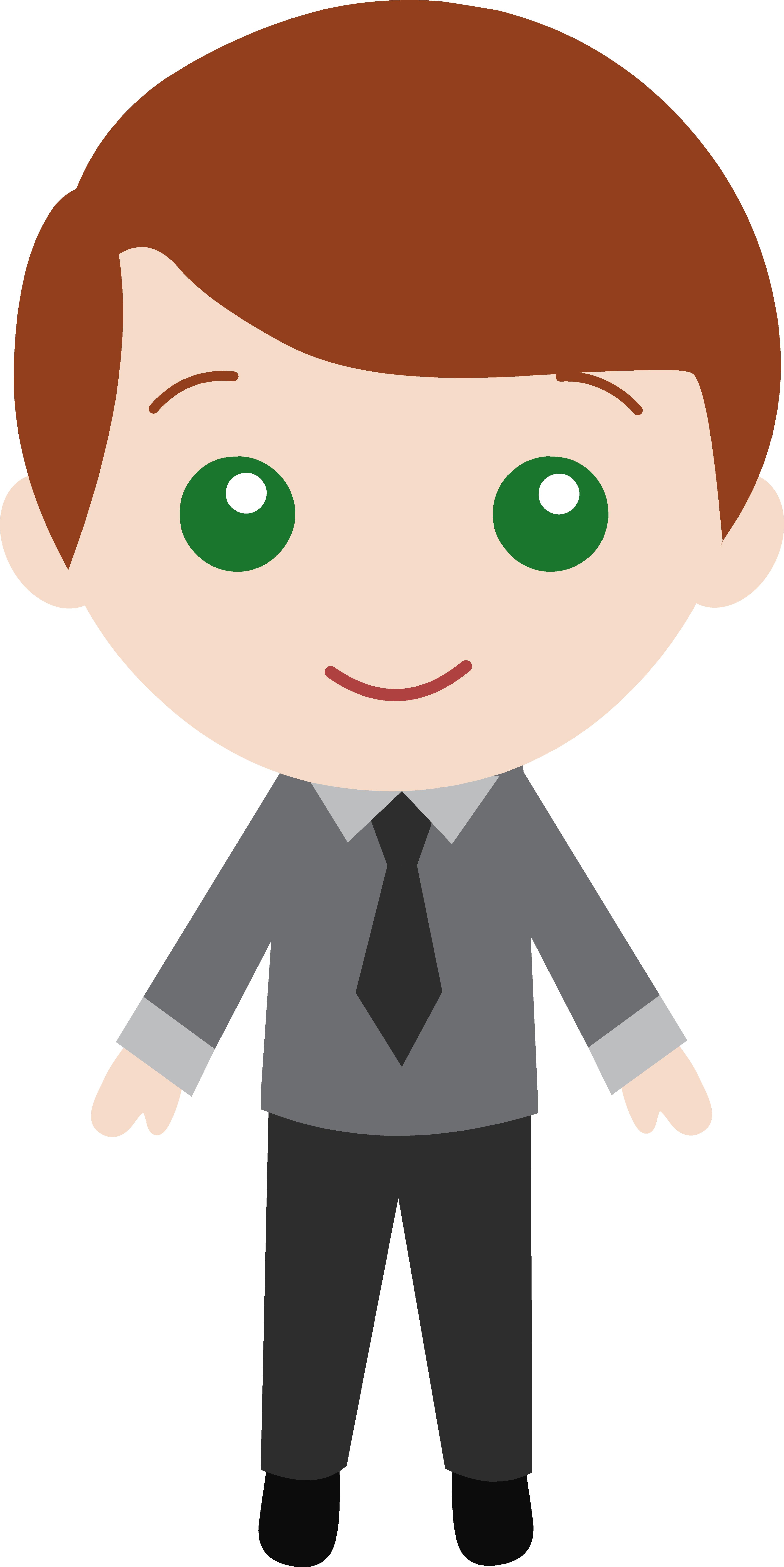 Little Guy Wearing a Suit 3.