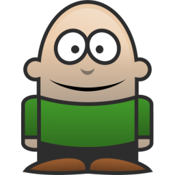 Little Guy Icon, PNG ClipArt Image.