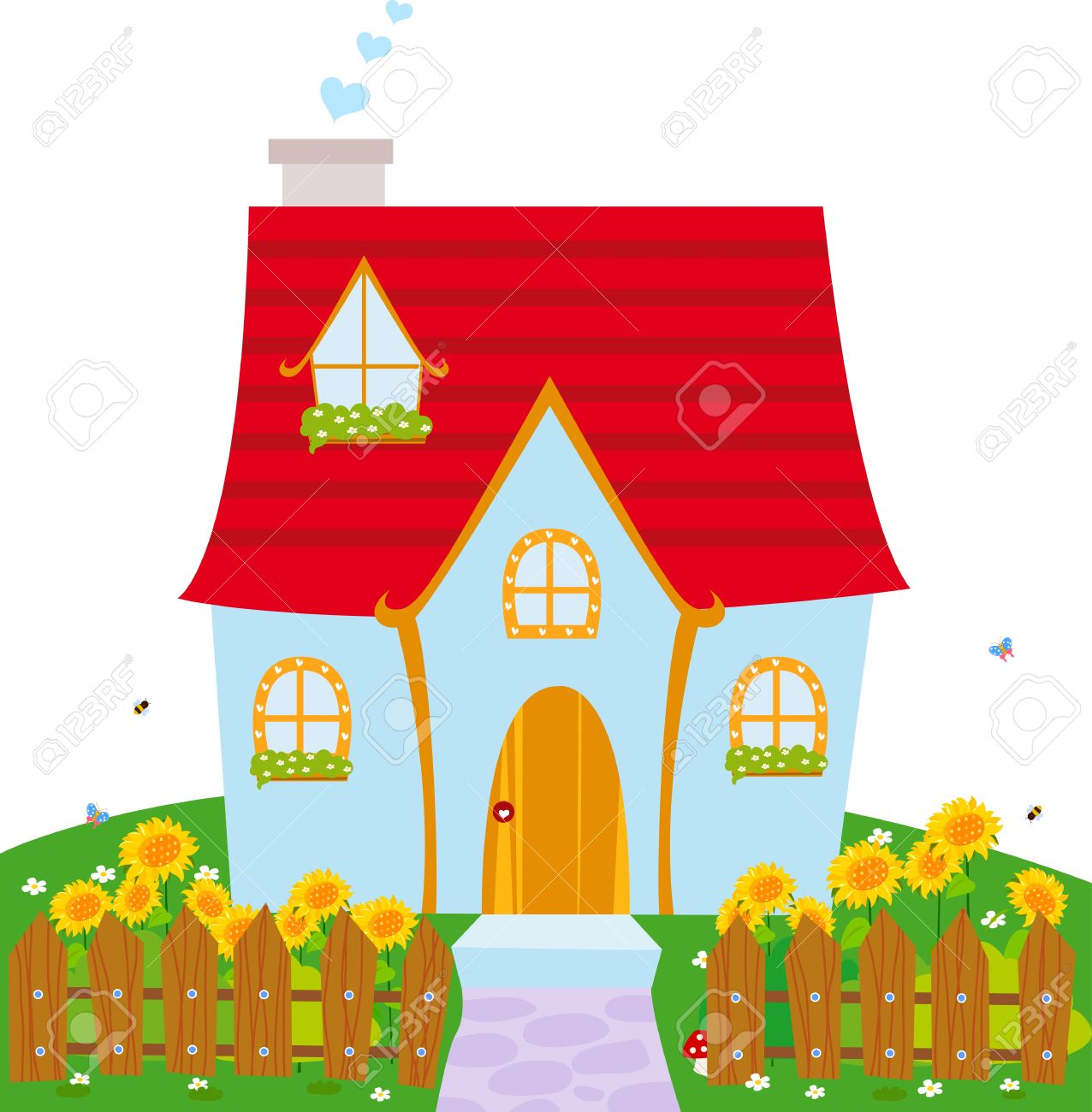 Little house clipart clipground for Ome images