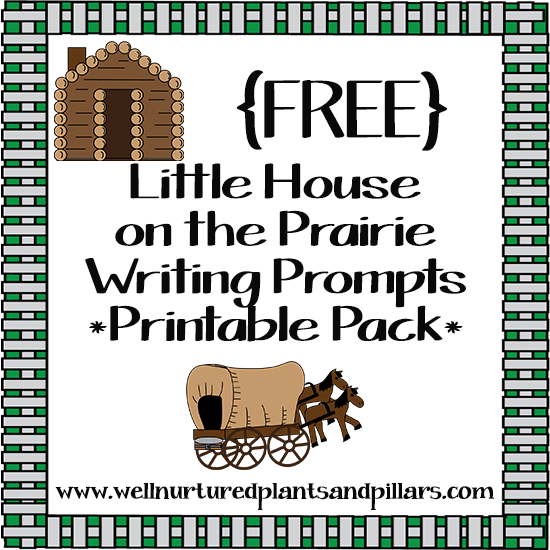 FREE} Little House on the Prairie Writing Prompts.