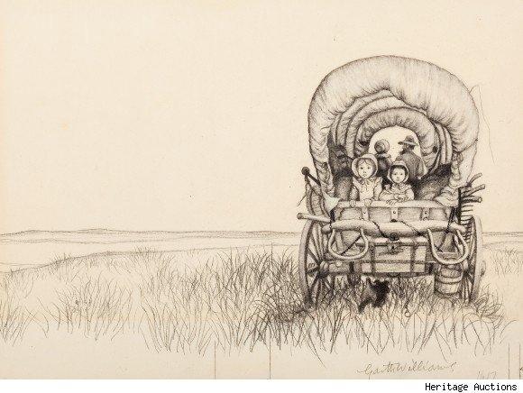 Little House On The Prairie Clipart.