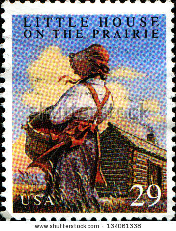 Little House On The Prairie Stock Images, Royalty.
