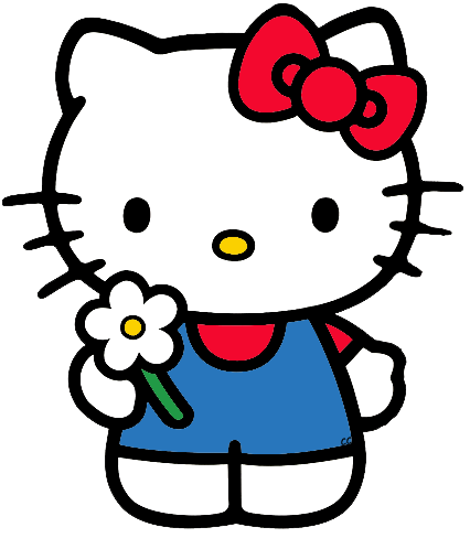 Hello Kitty Clip Art Images.