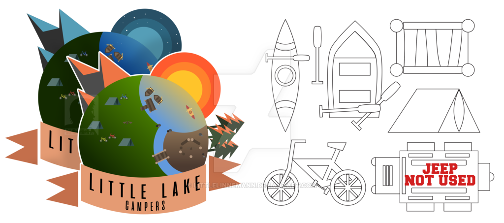 The details of LIttle Lake CAMPERS by LittleLinnemann on DeviantArt.