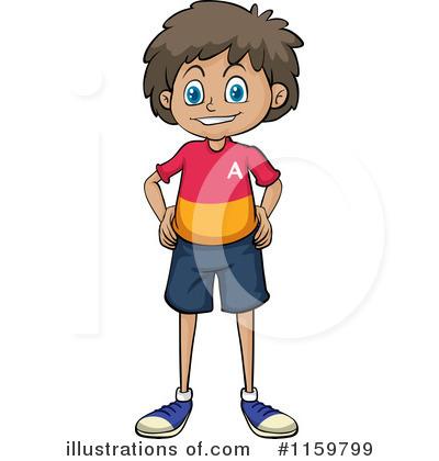 Little Mexican Boy Clipart.