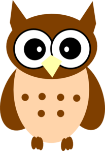 Little Owl Clipart.