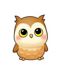 Little owl clipart #15