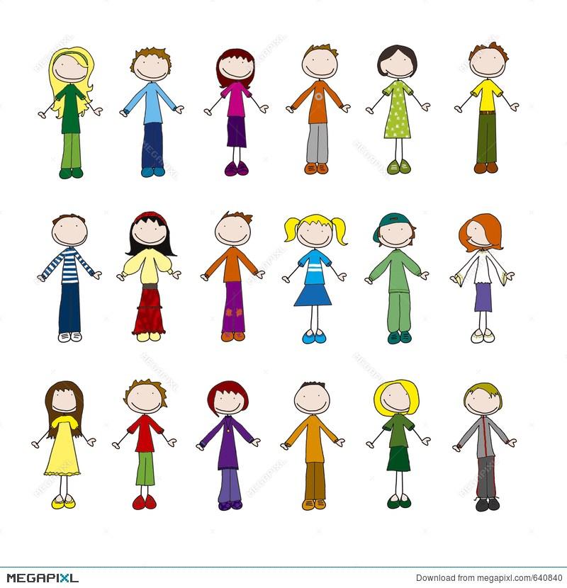 Little people clipart 2 » Clipart Portal.