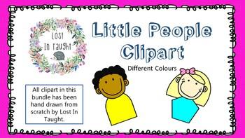 Little People Clipart.