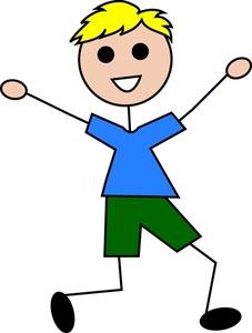 Clip Art Happy Boy Clipart#2085775.