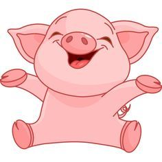 Image result for baby pigs clipart.