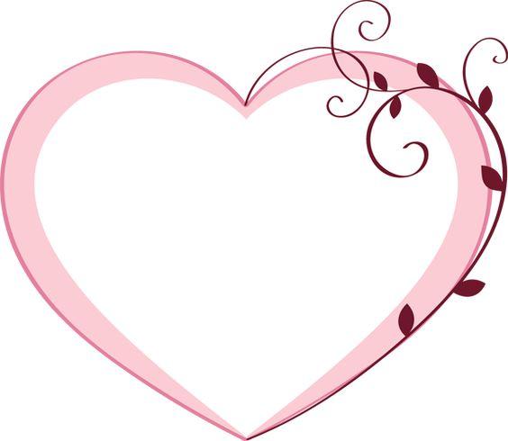 Fancy Heart Clip Art.