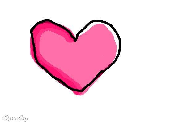 A little heart ← a ecards Speedpaint drawing by Regiss.