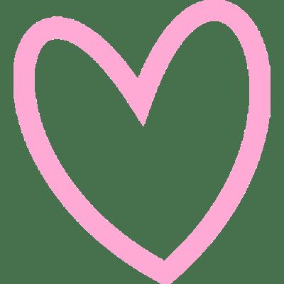 Heart Outline Little Hearts transparent PNG.