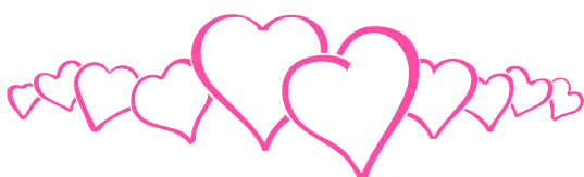 Hot Pink Heart PNG Clipart.