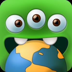 Yummy Little Planet (Xonix).