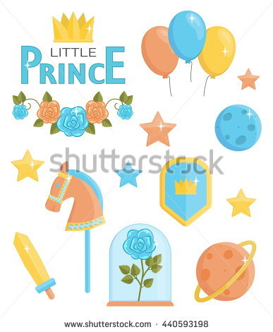 Little Prince Planet Stock Photos, Royalty.