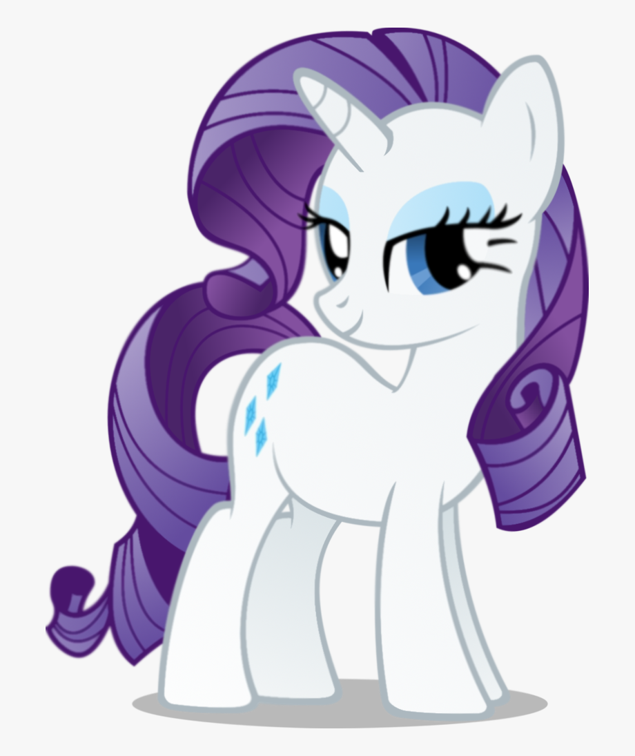 My Little Clipart Rarity.