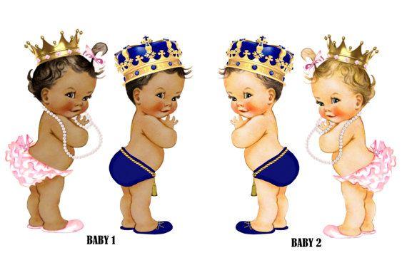 Royal Gender Reveal, Royal Prince Baby Shower Invitation.