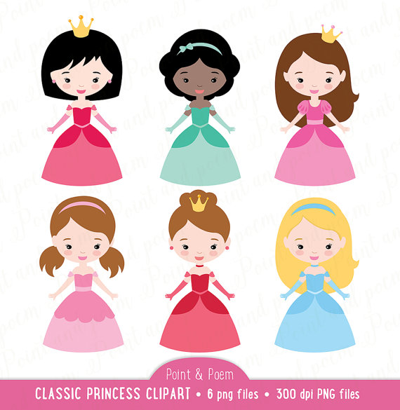 Little Princess Clipart.