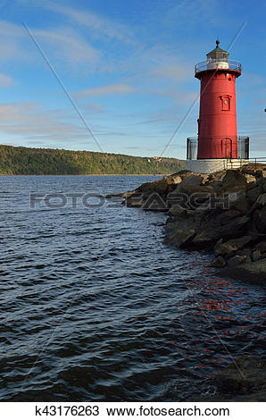 Stock Photo of Little Red Lighthouse. k43176263.