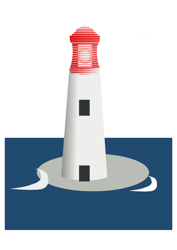 Lighthouse free clip art by liz on clip art blue cars and little.