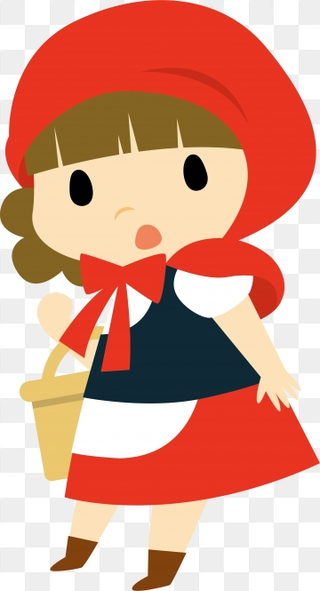 Little Red Riding Hood PNG Images.