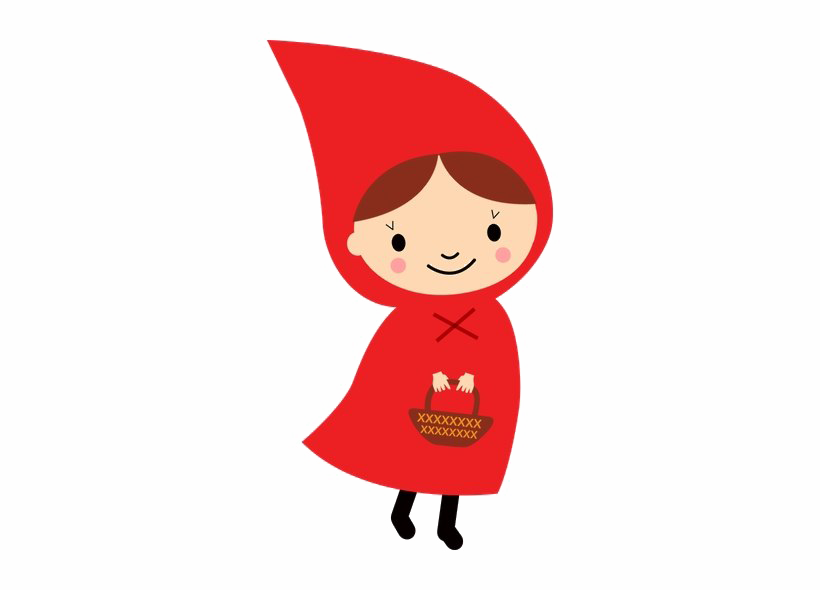 Little Red Riding Hood PNG Image.