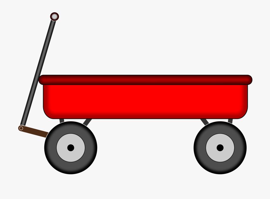 Carts Clipart Kid Wagon.