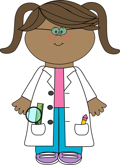 I'd rather treat my girls as little scientists instead of.