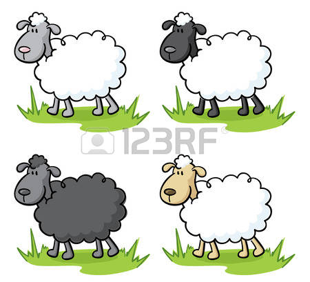 1,304 Little Sheep Stock Vector Illustration And Royalty Free.