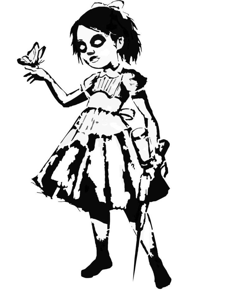 Bioshock Little Sister Clipart.