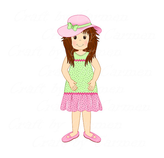 Little Girl Clipart Transparent.