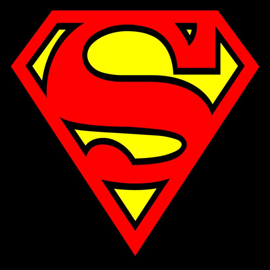 Cute Super Man Clipart Transparent.