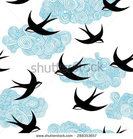 Swallow Bird Stock Photos, Royalty.