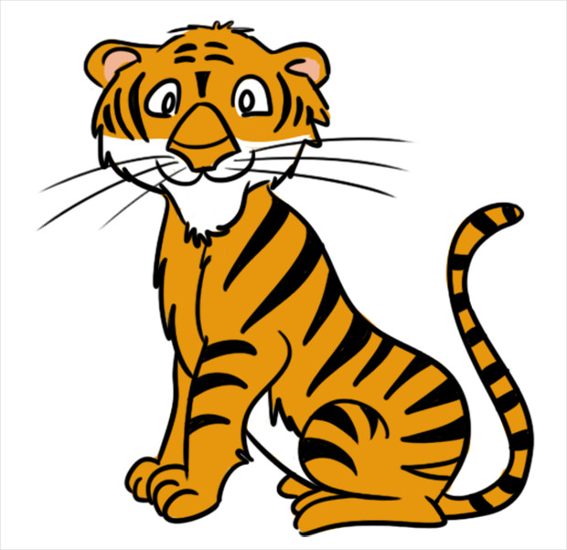22+ Tiger Clipart.