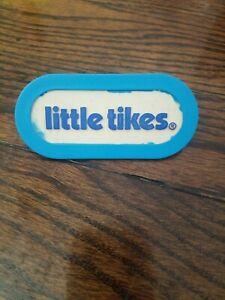 Details about Little Tikes Cozy Coupe LOGO EMBLEM PLATE Replacement 3.5\