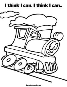 The little engine that could clip art.