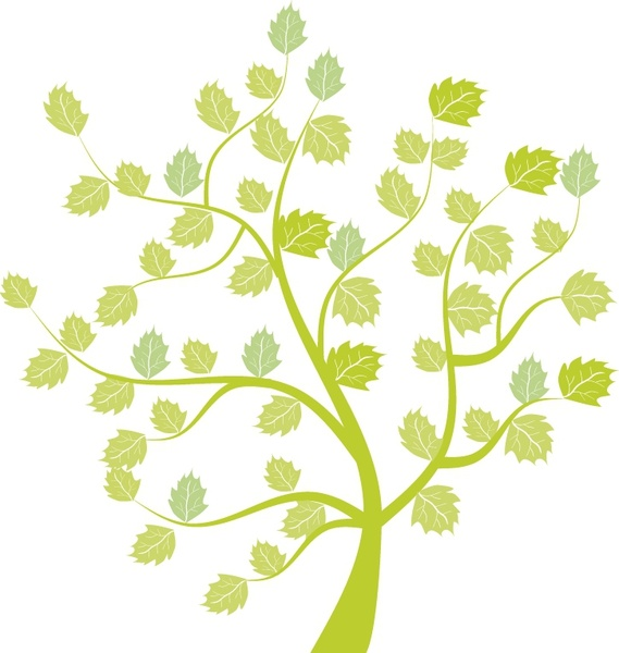 Green little tree free vector download (10,552 Free vector) for.