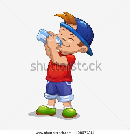 People Drinking Water Clipart Transparent Background.