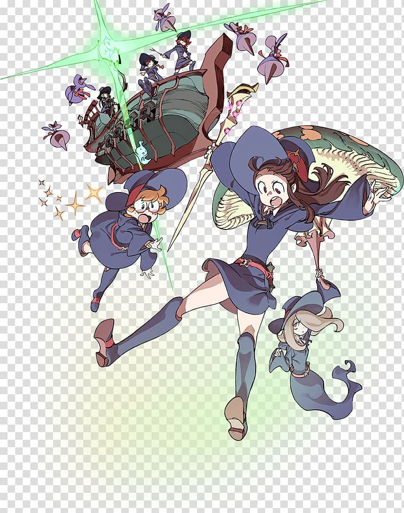 Shiny Chariot Little Witch Academia: Chamber of Time Fan art.